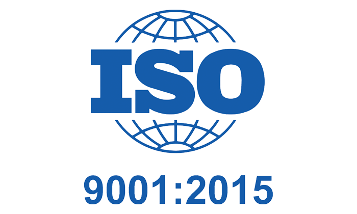 Certification ISO 9001 Certified